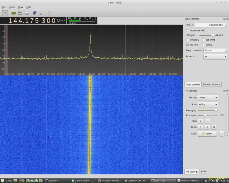 Signal im 144 MHz Bereich