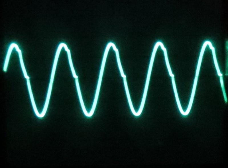 Signal bei 400 kHz im Band 2 (Bandanfang)