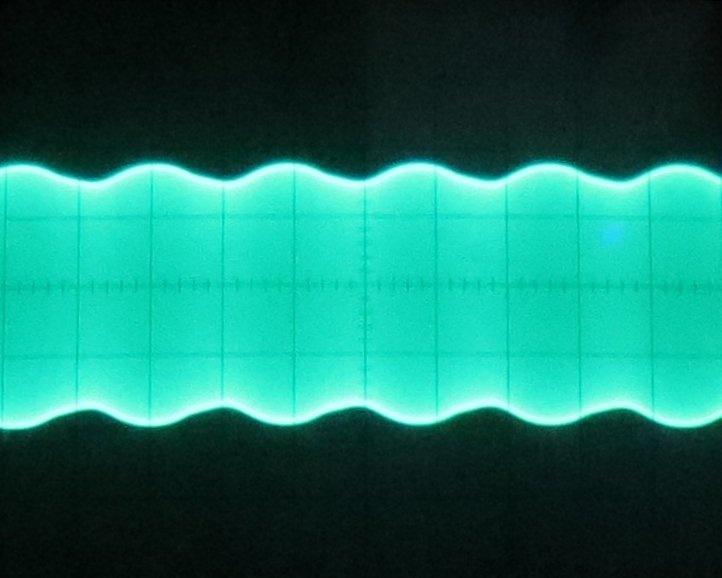Signal bei 15 MHz mit Modulation 600 Hz