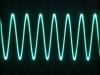 Signal bei 5 MHz im Band 4 (Bandmitte)